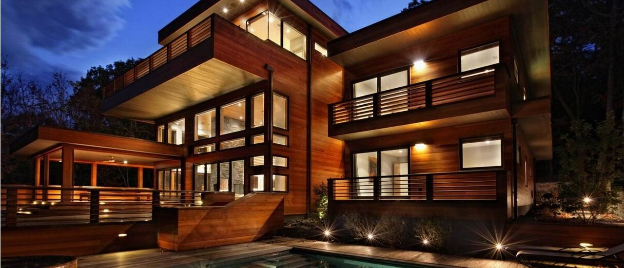Архитектура & дизайн загородных домов