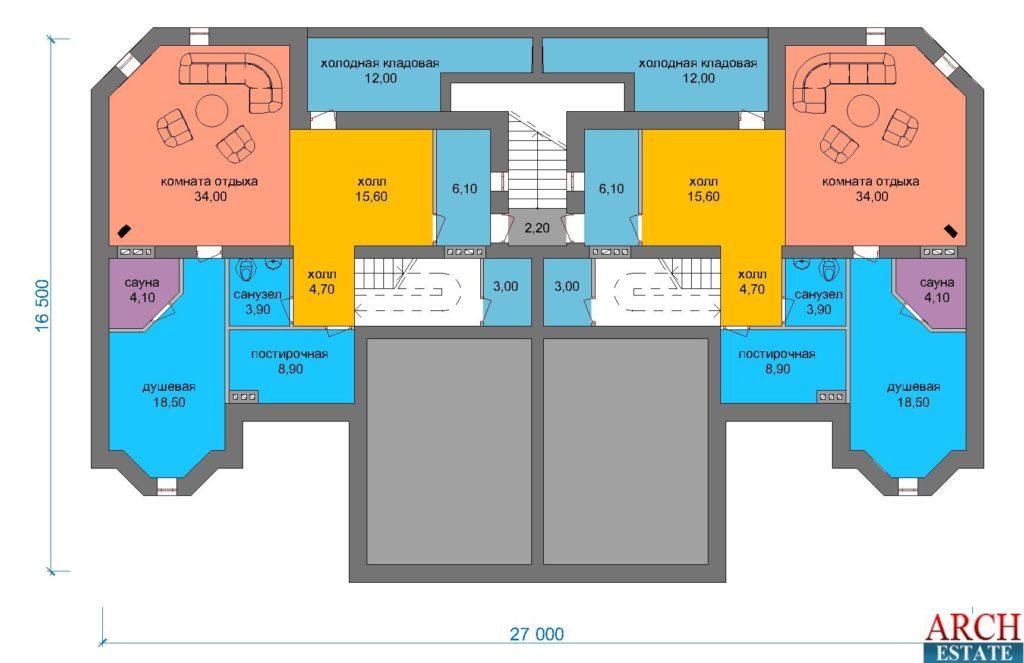 Проект дуплекса D-780
