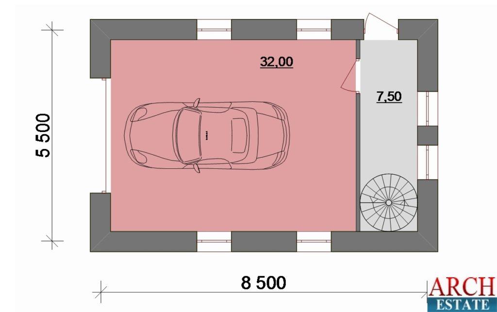 Проект гаража G-76