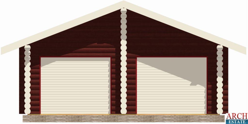 Проект гаража G-84