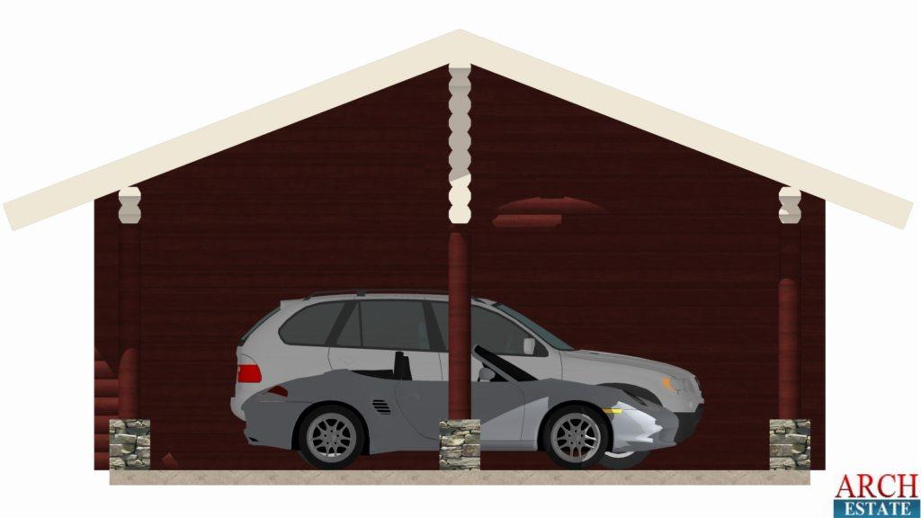 Проект гаража G-93