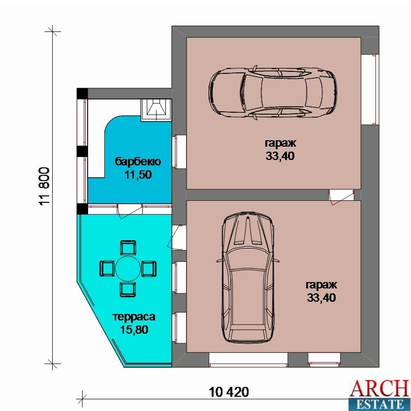 Проект гаража G-94