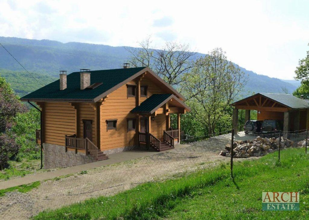 Проект деревянного дома W-196