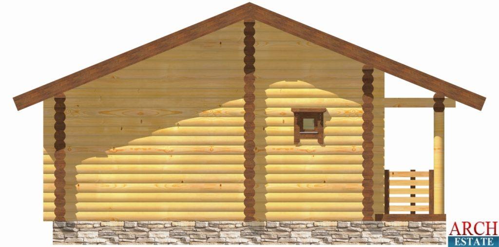 ект деревянной бани WS-50